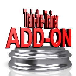Words on a pedestal: Train the Trainer Add-on